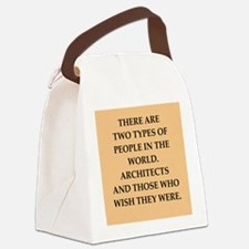 architect Canvas Lunch Bag