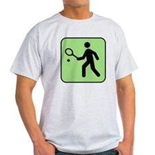 Tennis Player T-Shirt