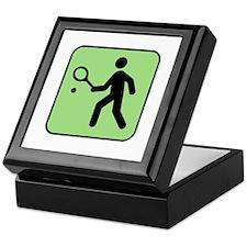 Tennis Player Keepsake Box