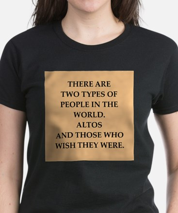 ALTOS Women's Dark T-Shirt