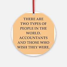 accountants Ornament (Round)
