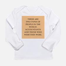 accountants Long Sleeve Infant T-Shirt