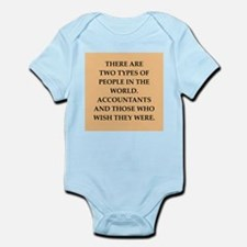 accountants Infant Bodysuit