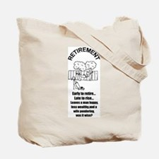 DIAPER DAN RETIREMENT LOOK Tote Bag