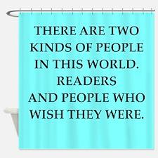 reader Shower Curtain