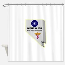 Alien Life Support Shower Curtain