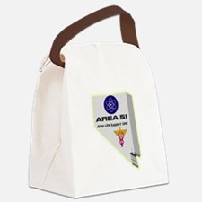 Alien Life Support Canvas Lunch Bag