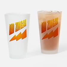 Bad Zinga Drinking Glass