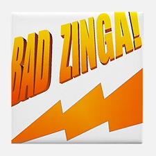 Bad Zinga Tile Coaster