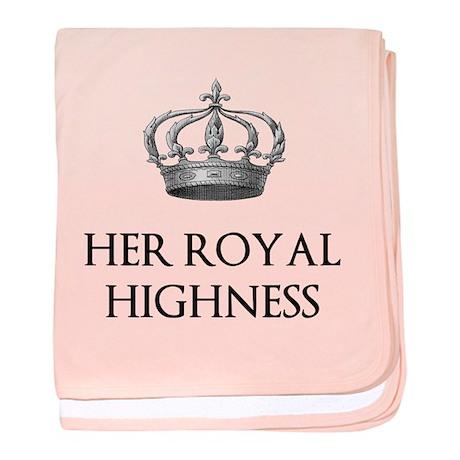 Her Royal Highness baby blanket