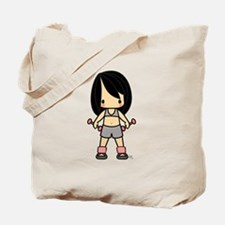 Sunkissed Exercise Girl No Sweat Black Hair Tote B
