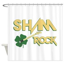 Sham Rock Shower Curtain