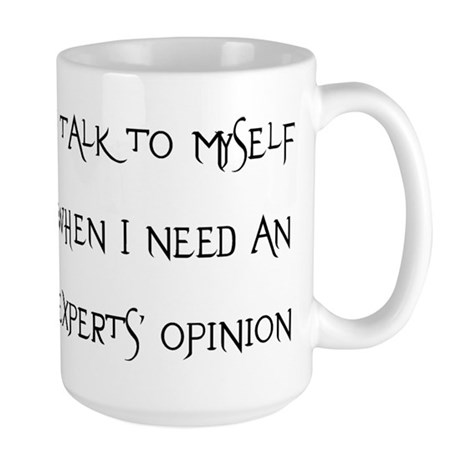 experts, opinion Large Mug