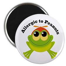 Allergic To Peanuts Magnet