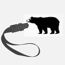 Black Bear Luggage Tag
