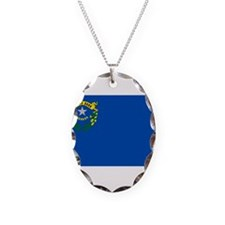 Flag of Nevada Necklace
