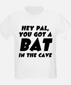 Bat In The Cave Kids T-Shirt