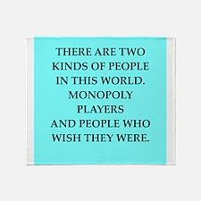 monopoly Throw Blanket
