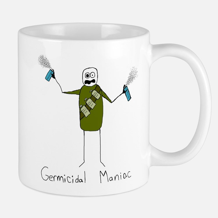 Germicidal-Maniac Mugs
