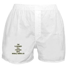 The Floggings will Continue u Boxer Shorts
