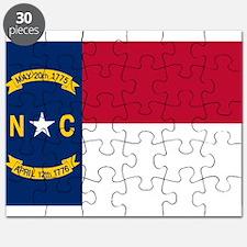 Flag of North Carolina Puzzle