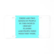 cricket Aluminum License Plate