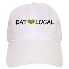 eatLocal.png Baseball Cap