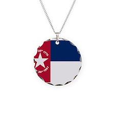 Flag of North Carolina 1861–1885 Necklace Circle C
