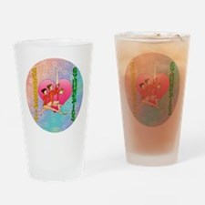 Acrobatic Gymnastics Drinking Glass