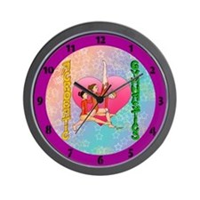 clock Acrobatic Gymnastics Wall Clock