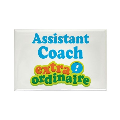 Assistant Coach Extraordinaire Rectangle Magnet