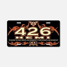 426 HEMI Aluminum License Plate