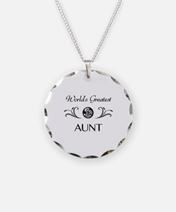 World's Coolest Auntie Necklace