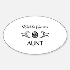World's Coolest Auntie Decal