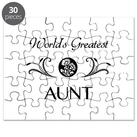World's Coolest Auntie Puzzle