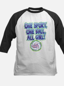 One Sport, All Girl Kids Baseball Jersey