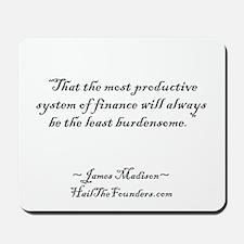 James Madison Mousepad