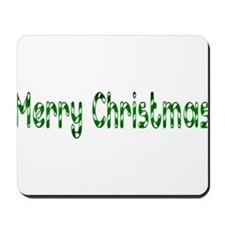 green merry chirstmas Mousepad