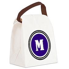 Purple Canvas Lunch Bag