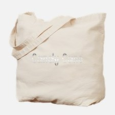 white candy cane Tote Bag