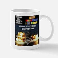 USS NEW JERSEY (BB-62) Small Small Mug