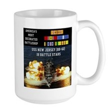 USS NEW JERSEY (BB-62) Mug