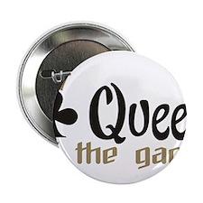 """poker queen 2.25"""" Button"""