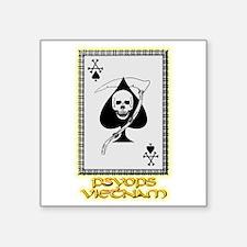 "Psyops Vietnam Square Sticker 3"" x 3"""