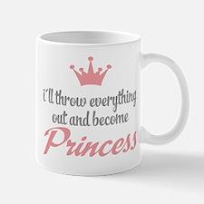 funny princess Mug