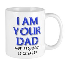Invalid Argument Dad Funny T-Shirt Mug
