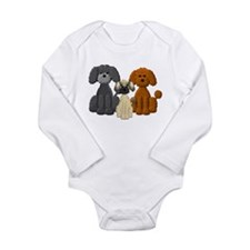 POODLE Long Sleeve Infant Bodysuit