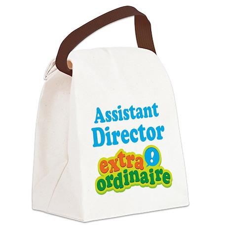 Assistant Director Extraordinaire Canvas Lunch Bag