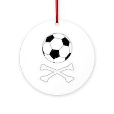 Bloody Football Hooligan Ornament (Round)