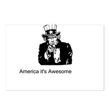 America It's Awesome Postcards (Package of 8)